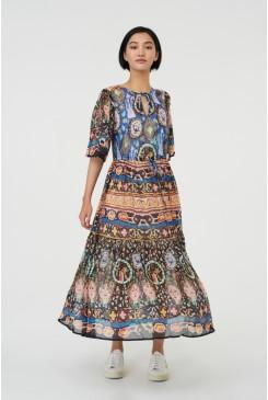 Marrakesh Express Long Dress