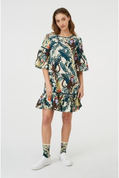 Hanging Out Smock Dress