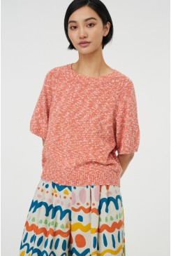 Spin A Yarn Knit Top