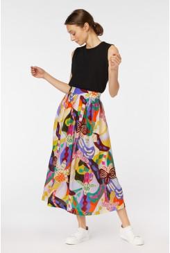 Wild Orchid Skirt