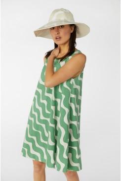 Make Waves Jersey Dress