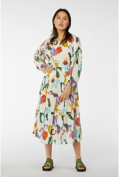 Tropicola Smock Dress