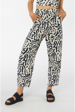 Ripple Effect Linen Pant