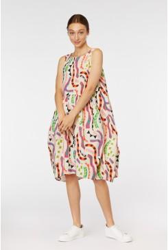 Streamers Tulip Dress