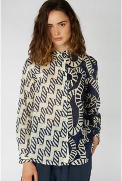 Aquarius Splice Shirt