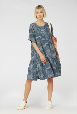 Jungle Blues Dress