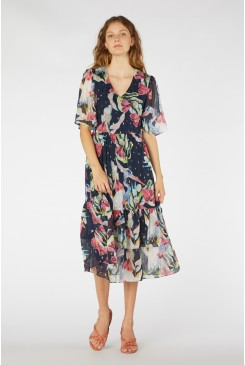 Heron Lurex Dress