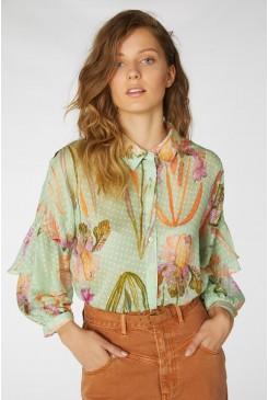 Iris Upon A Shirt