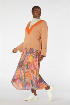 Iris Veins Skirt