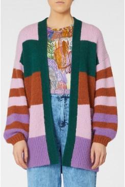 Stevie Striped Cardi