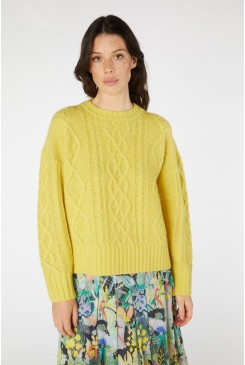 Cable Cuddle Jumper