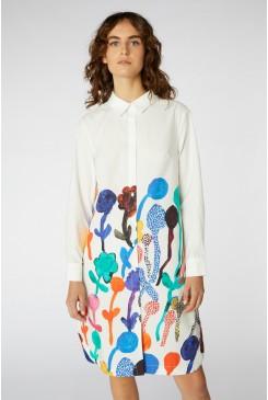 Georgias Garden Shirt Dress