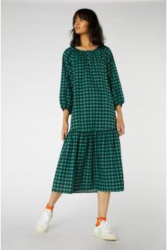Romy Gingham Long Dress
