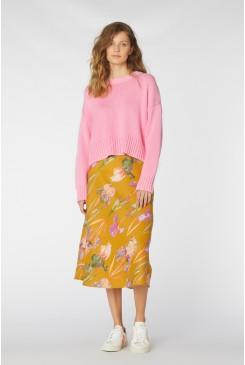 Iris Gold Slip Skirt