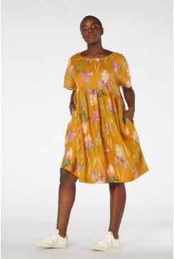 Iris Gold Trifecta Dress
