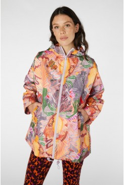 Iris Veins Raincoat