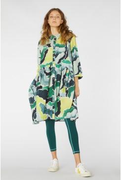 Cloud Forest Shirt Dress