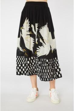 Dancing Egrets Skirt