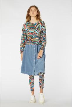 Romi Corduroy Skirt