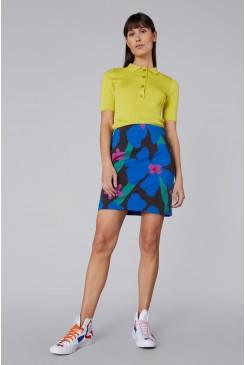 Lawn Daisy Mini Skirt