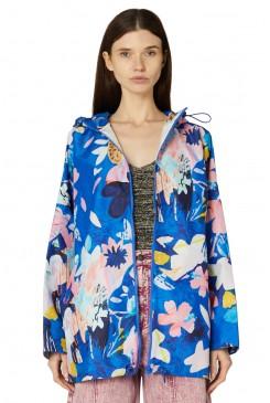 Big Blue Raincoat