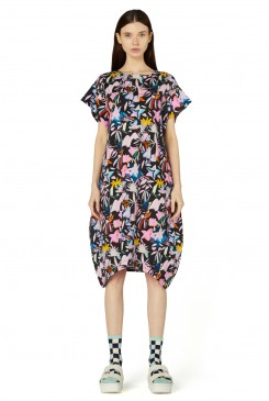 Black Licorice Jersey Dress