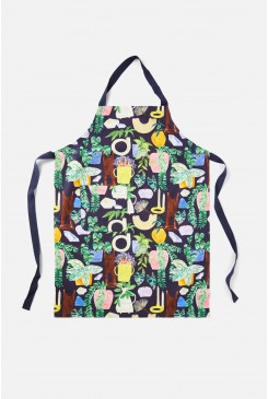 Leafy Library Apron
