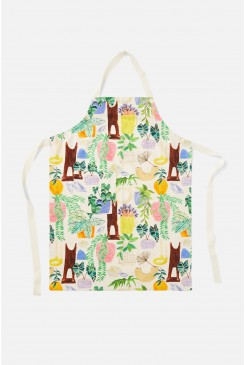 Green Gallery Apron