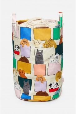 Pup Pocket Toy Basket