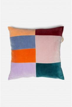 In The Shadows Velvet Cushion