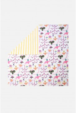 Orchid Friends Bedding Set King