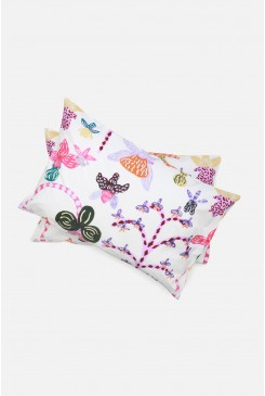 Orchid Friends Pillow Case Set