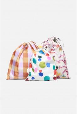 Orchid Friends Reusable Bag Set