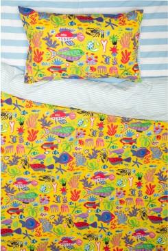 Sea You Round Kids Bedding Set