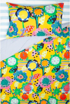 Flower Power Kids Bedding Set