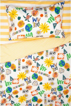 Dear World Kids Bedding Set