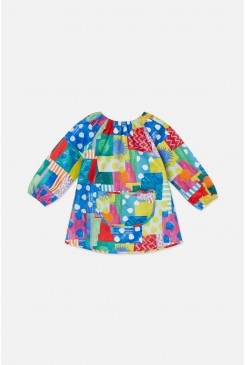 Spotty Blocky Art Smock