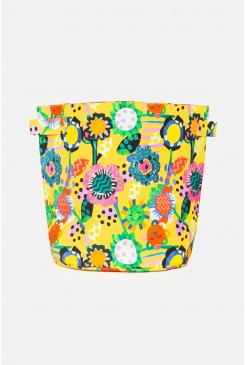 Flower Power Kids Toy Basket