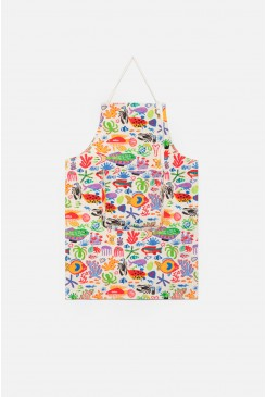 Sea You Round Kids Apron