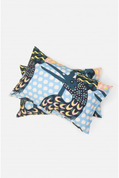 Stork Talk Pillowcase Set