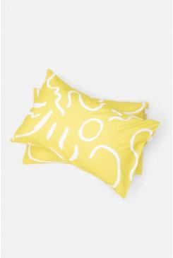 Life Drawing Pillowcase Set