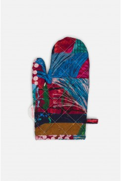 Painted Song Oven Mitt