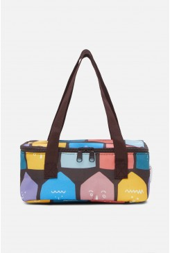 Tiny Houses Lunch Bag