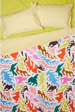 Lotsa Leaves Bedding Set King