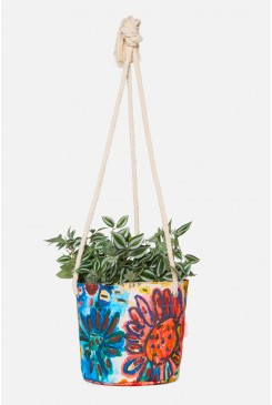 Issa Flower Med Hanging Planter