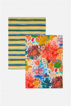 Issa Flower Tea Towel Set