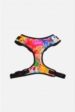 Issa Flower Medium Dog Harness