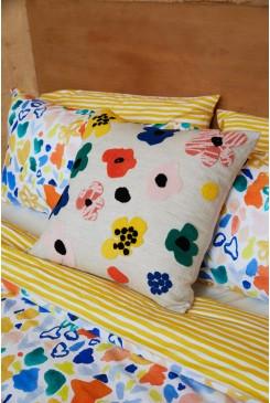 Fleur Embroidered Cushion