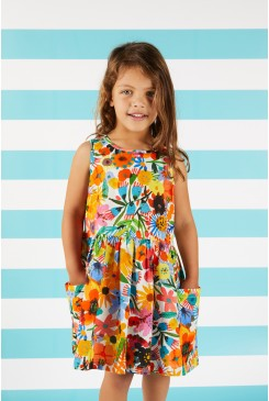 Secret Garden Sleeveless Dress