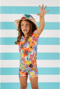 Secret Garden Sunsuit